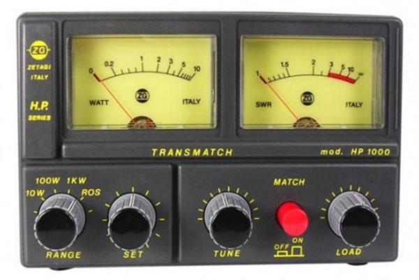 Zetagi HP-1000 (Tosmetre wattmetre matcher) Hp-10010