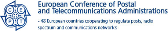 CEPT - European Conference of Postal and Telecomunications Administrations Logo_710