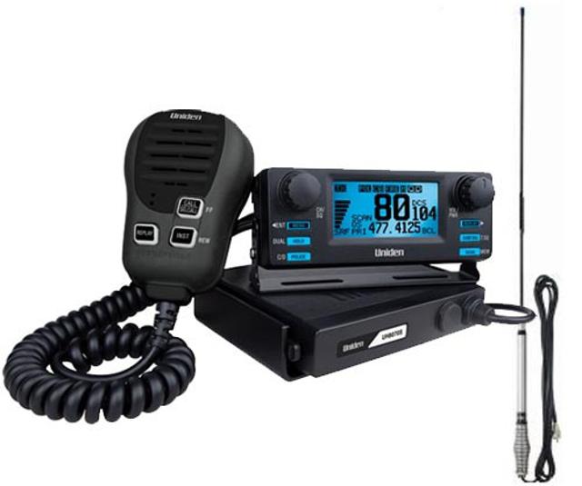 Uniden UH8070S (CB Routier et 4x4 UHF) Uh807010