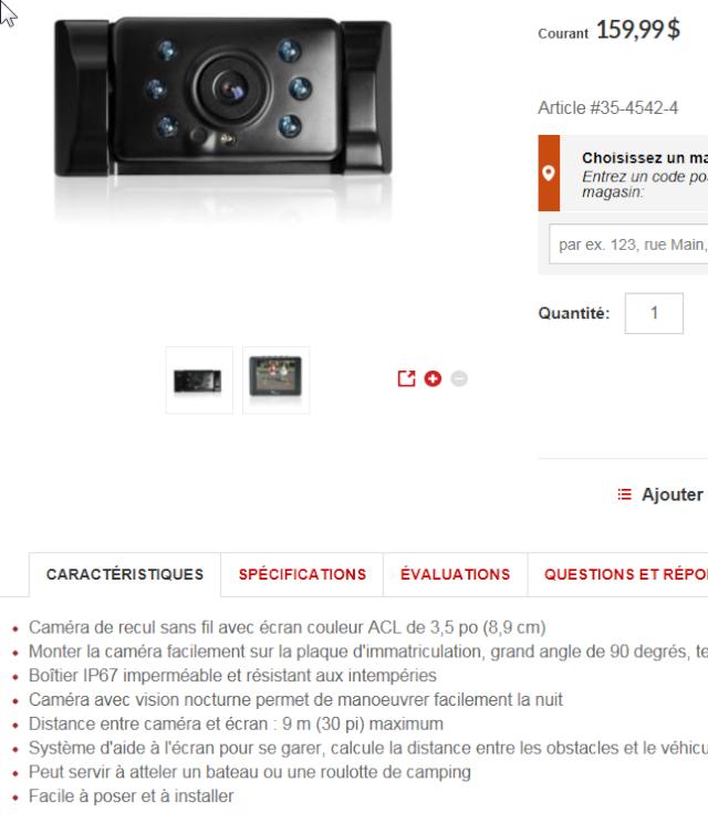 Caméra de recul ?? 2015-114