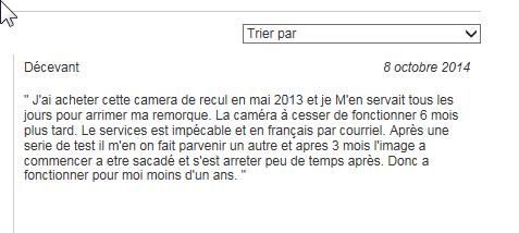 Caméra de recul ?? 2015-116