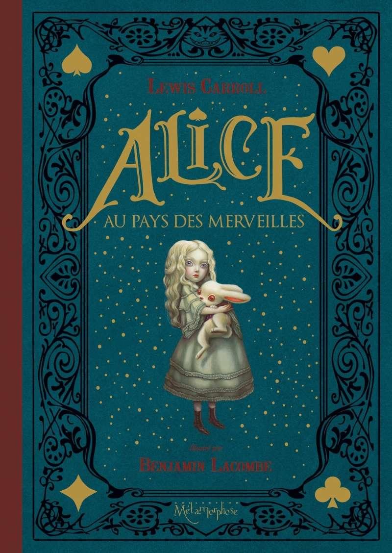 Alice au pays des merveilles, illustré par Benjamin Lacombe. 91yliy10