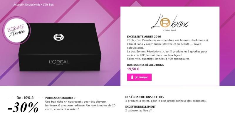 Instant Beauty Box L'Oréal Loreal10