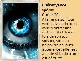 Liste des cartes Illusion Clairv10