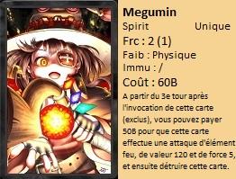 Liste des cartes Illusion Megumi11
