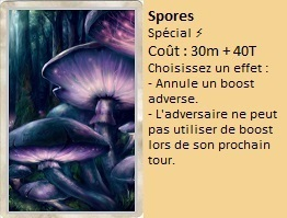 Liste des cartes Illusion Spores11