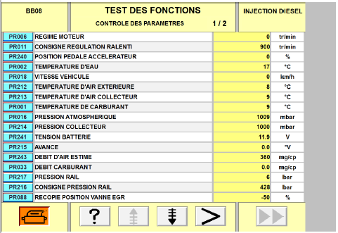 Probleme clio 1.5 dci pression rail vraiment au mini 5 bar 210