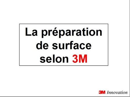 Préparation de surface selon 3M 114