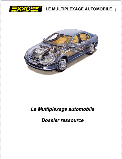 Le multiplexage automobile  710