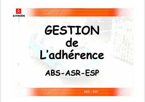 Gestion de l'adhérence ABS-ASR-ESP Captur10