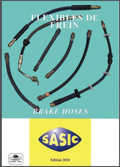 Catalogue Flexibles de frein 2010 Sasic14