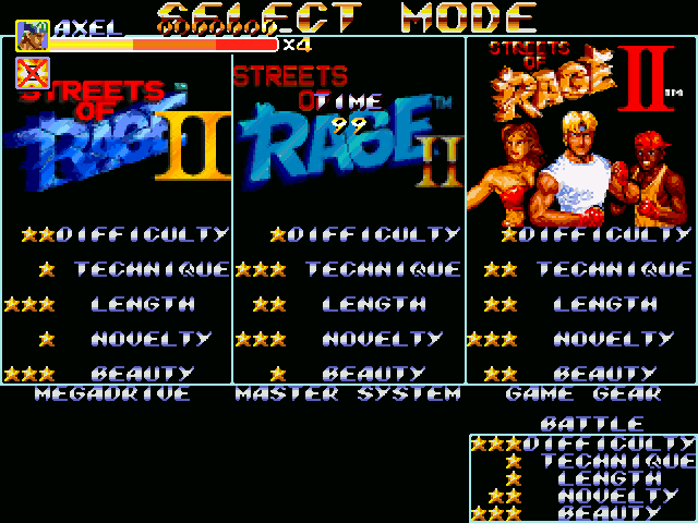 Streets of Rage 2 Collection for V5: Unified Edition Sor2_s11