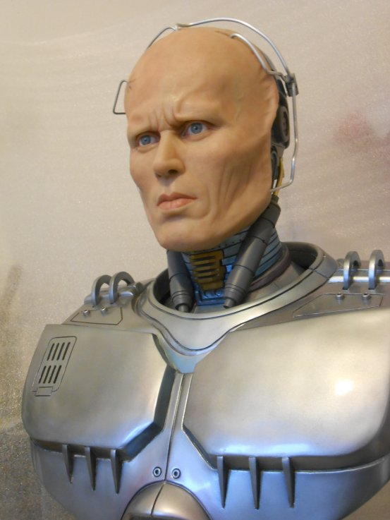 Robocop buste life size by J-P Reuchet  Robo910