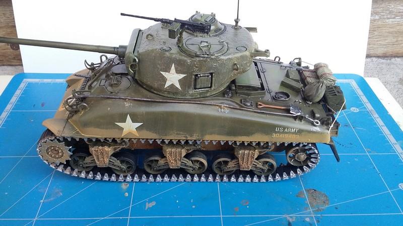 Sherman - SHERMAN M4 A1 76 mm (ITALERI 1/35) 00210