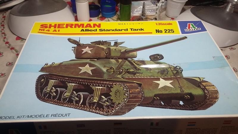 Sherman - SHERMAN M4 A1 76 mm (ITALERI 1/35) 002_210