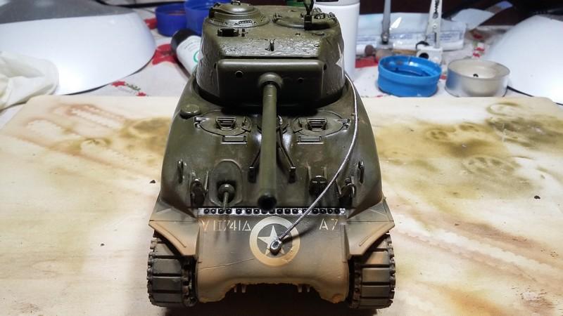 Sherman - SHERMAN M4 A1 76 mm (ITALERI 1/35) 002_610