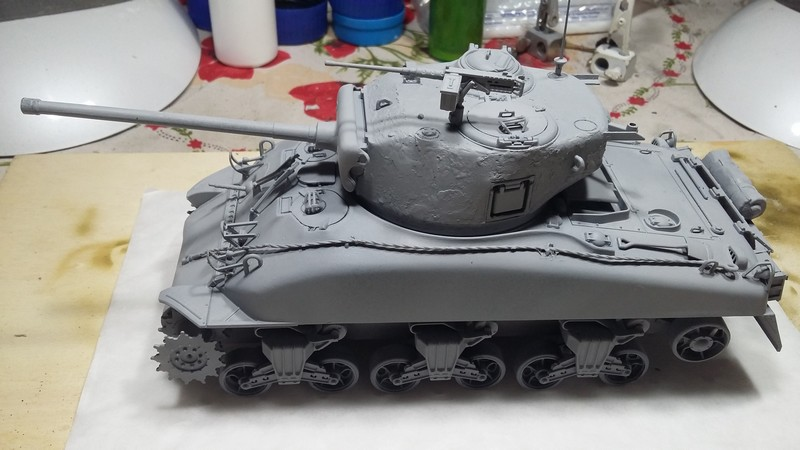Sherman - SHERMAN M4 A1 76 mm (ITALERI 1/35) 003_310