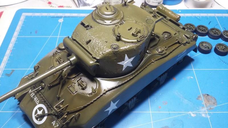 Sherman - SHERMAN M4 A1 76 mm (ITALERI 1/35) 003_410
