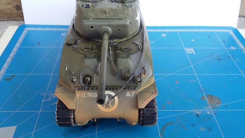 Sherman - SHERMAN M4 A1 76 mm (ITALERI 1/35) 00411