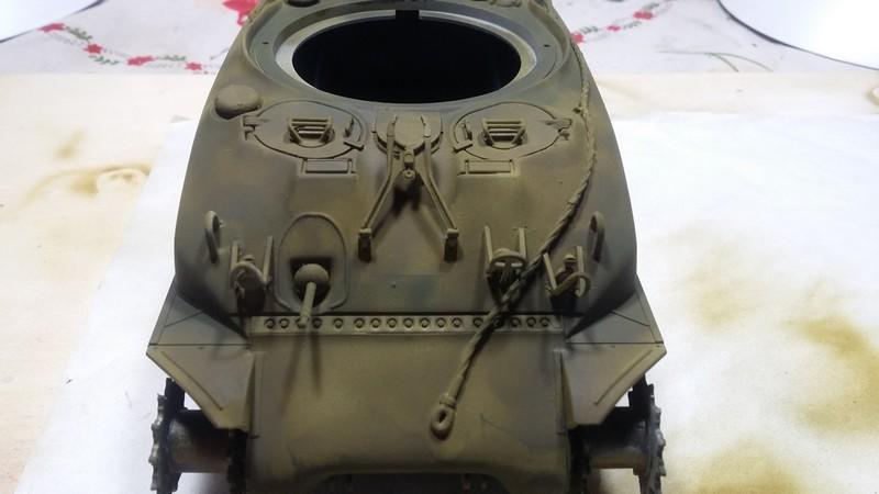 Sherman - SHERMAN M4 A1 76 mm (ITALERI 1/35) 004_310