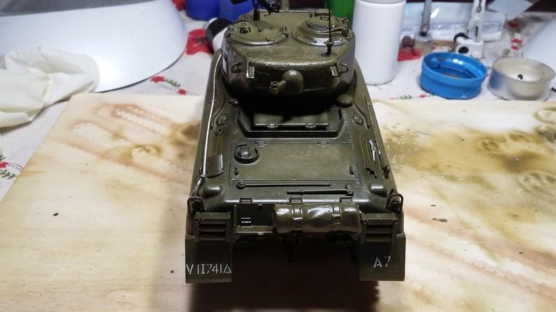 Sherman - SHERMAN M4 A1 76 mm (ITALERI 1/35) 004_410