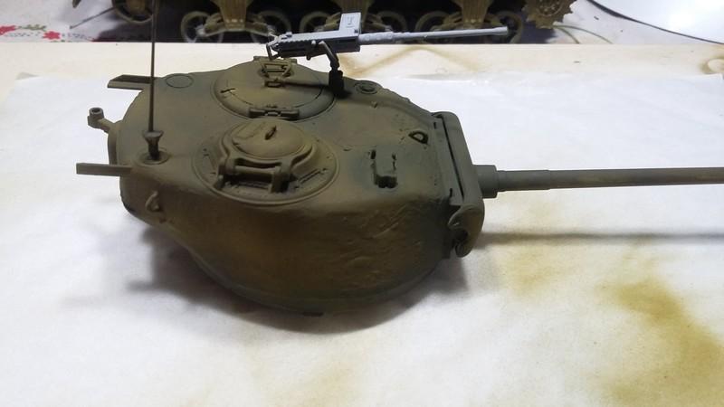 Sherman - SHERMAN M4 A1 76 mm (ITALERI 1/35) 007_210
