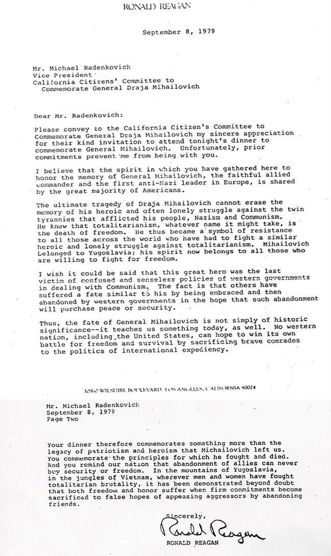 Drapeau Tchetniks - Page 2 Reagan10
