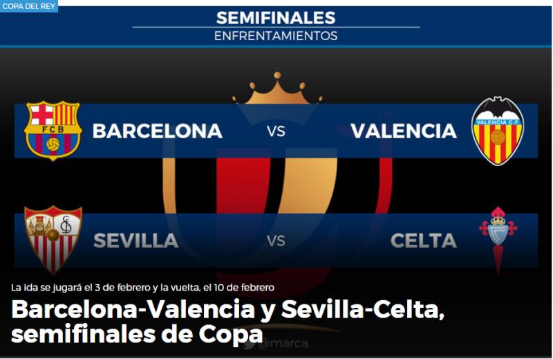 3-10 Febrero - Semis ( Copa del Rey ) Semisc10