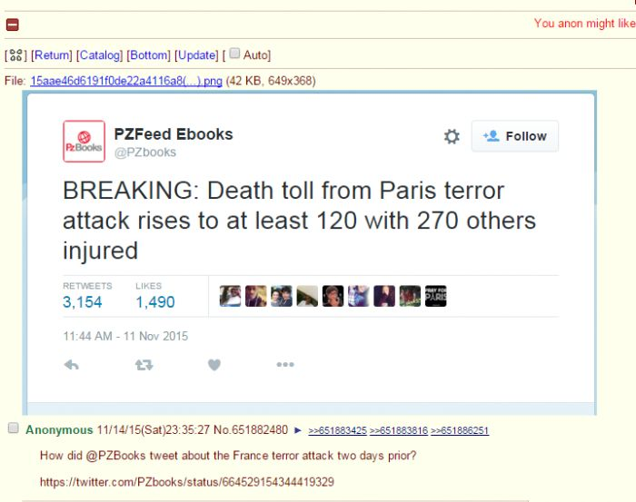 Explosion und Schießerei in Paris! - Seite 2 5196410