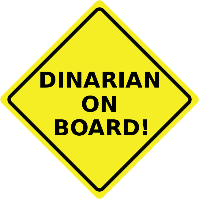 HONK IF YOU'RE A DINARIAN BUMPER STICKERS NOW AVAILABLE  Dinari10