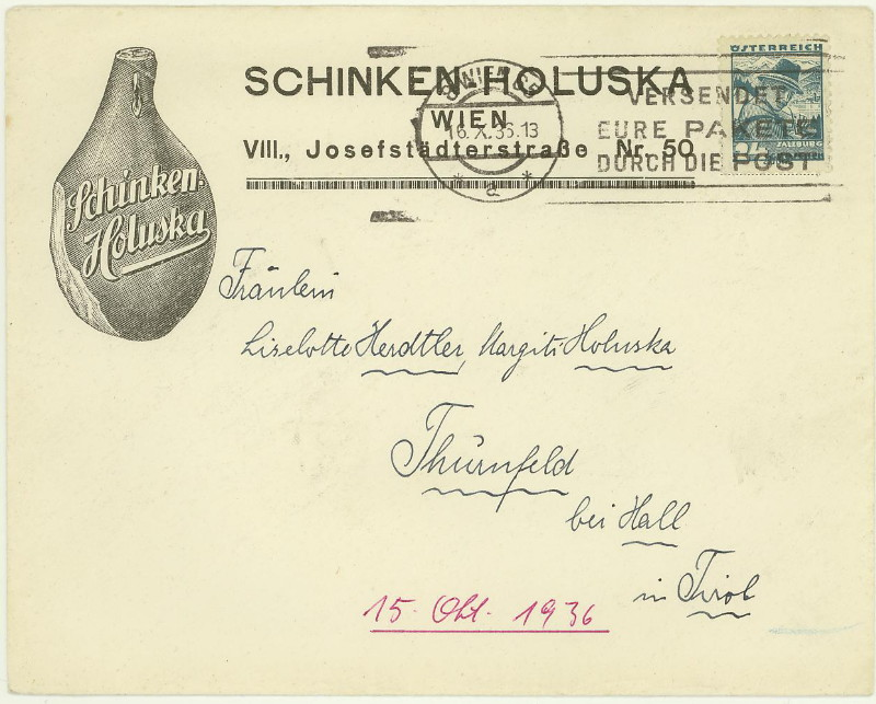 Werbeumschläge und -karten aus Österreich - Seite 4 Schink10