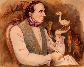 Début de la publication des contes d'Andersen (1835) Anders10