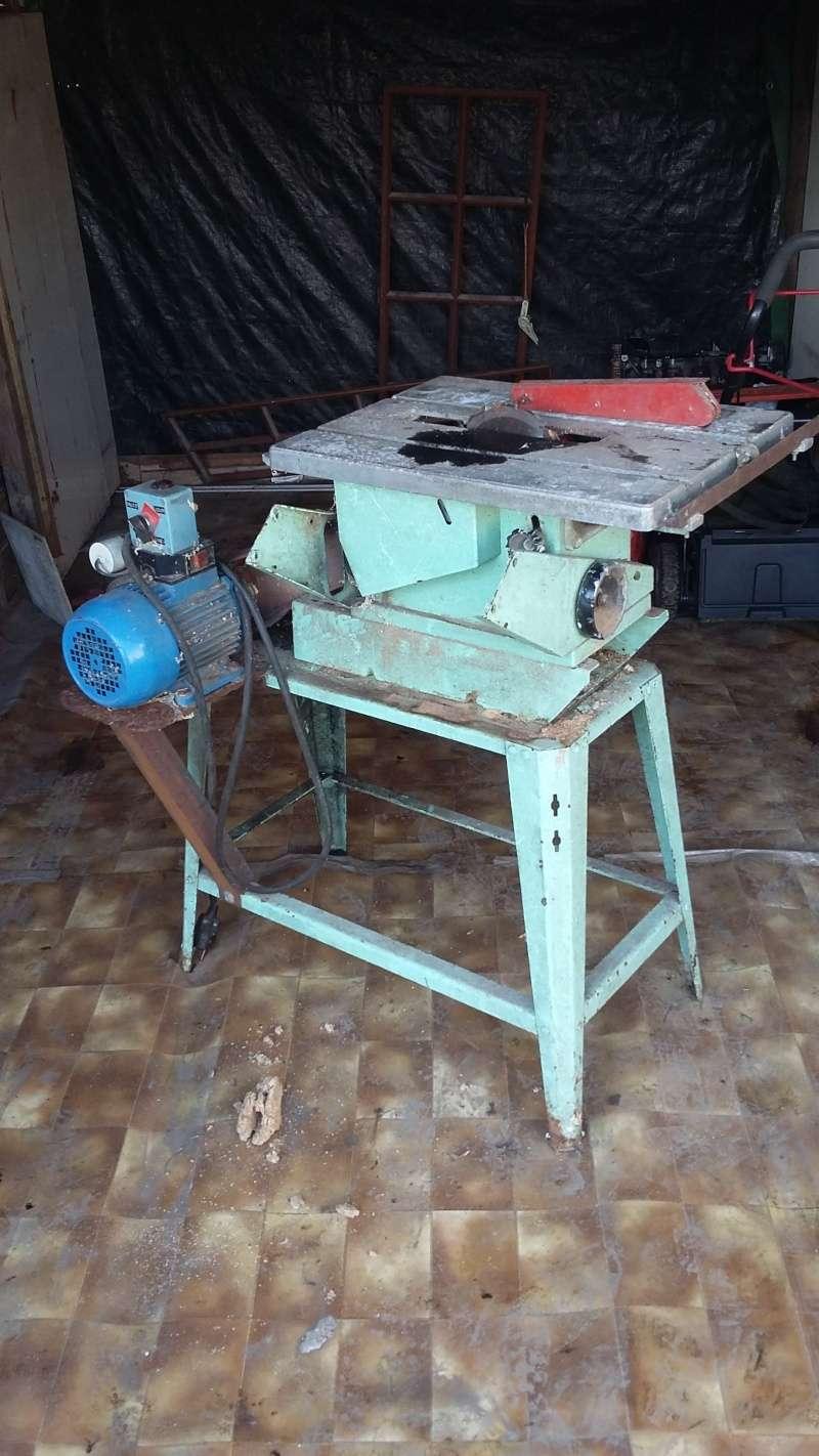 Rénovation scie circulaire Kity 617 20151211