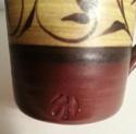 Small mug with stamp. Mug_a10