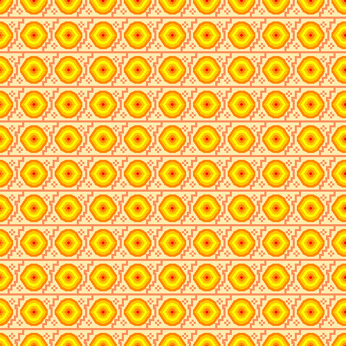 Assignment 28: Repeating Patterns (pixel art) Due Jan 14 Finish10