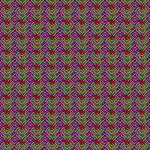 Assignment 28: Repeating Patterns (pixel art) Due Jan 14 - Page 3 Strawb11