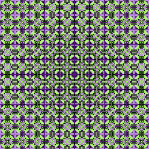 Assignment 28: Repeating Patterns (pixel art) Due Jan 14 Thing_10