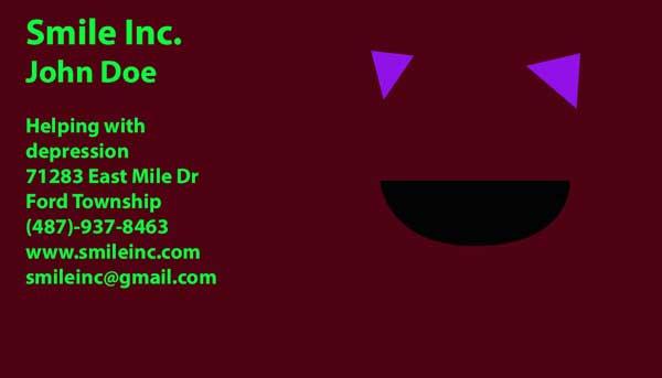 Assignment 23: Business Card Designs due Dec 4 - Page 3 Smilec12
