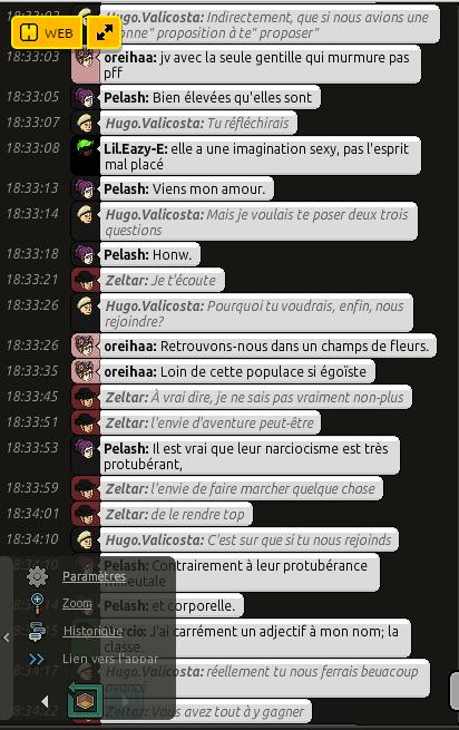 Conversation avec Zeltar 210