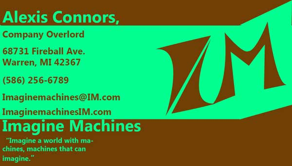 Assignment 23: Business Card Designs due Dec 4 - Page 3 Buisne10
