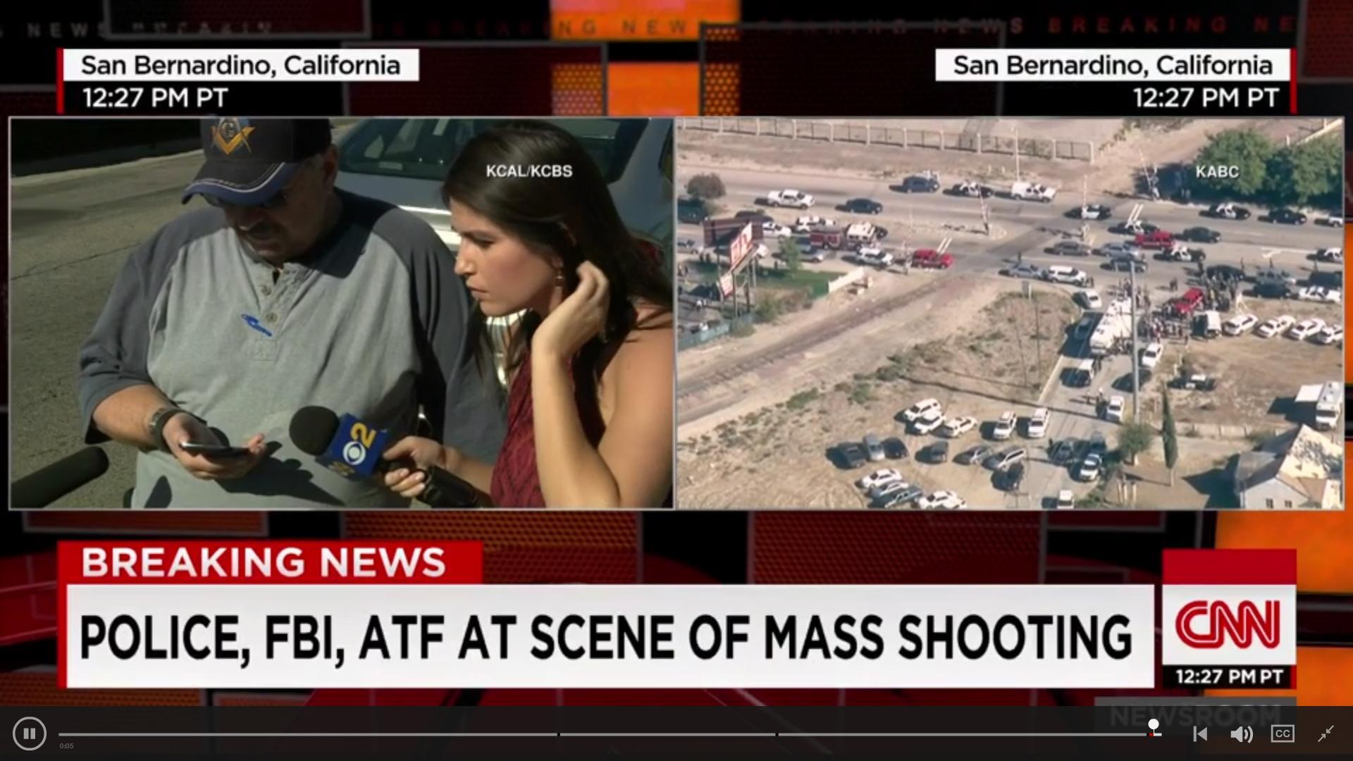 Schießerei in San Bernardino, Kalifornien Sber10