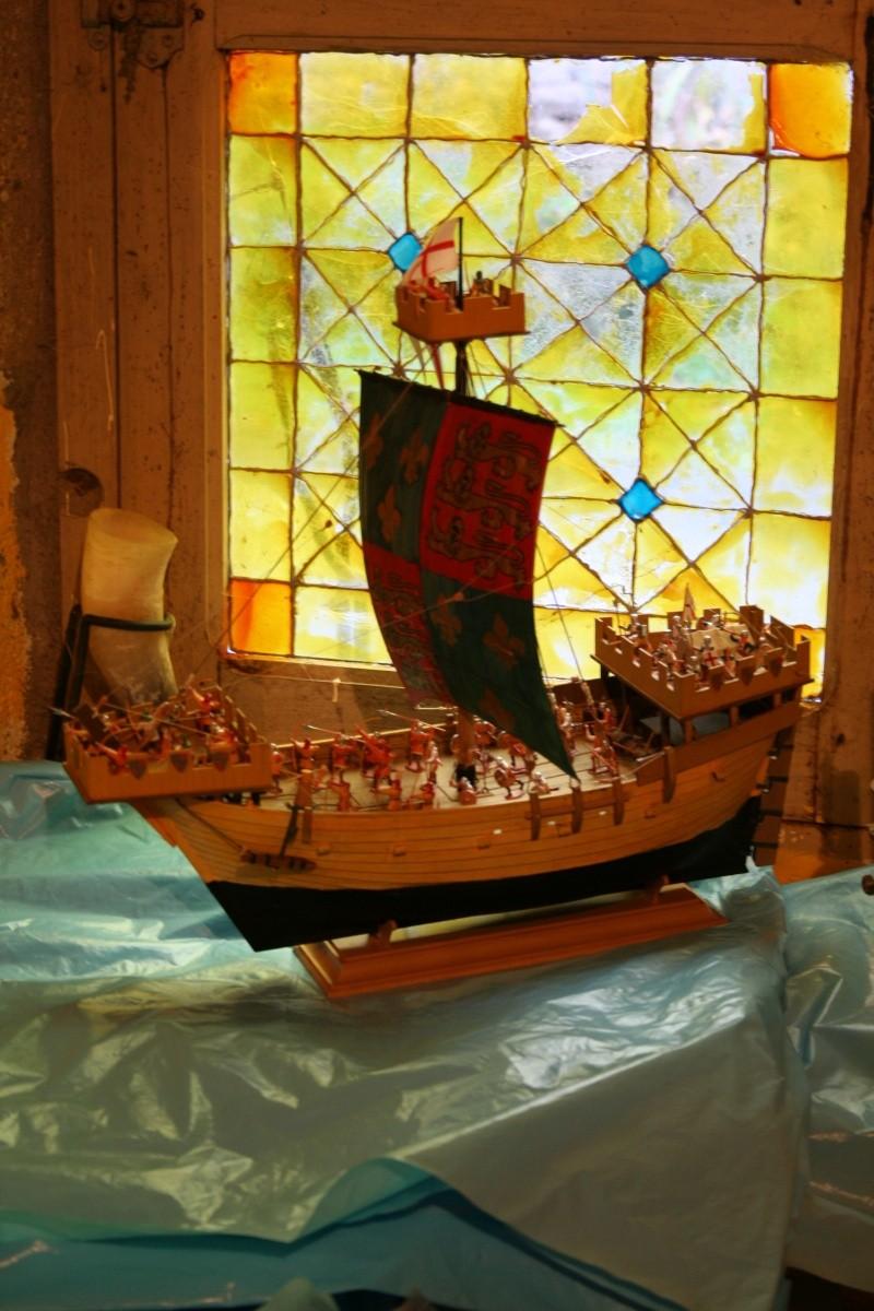 L'Ambitieux  un des navires de Tourville par michaud - Page 4 Img_2615