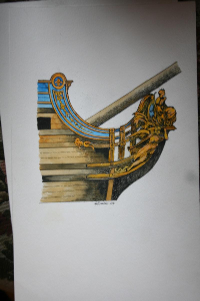 le radoub du ponant : Origine des voiles royales - Page 6 Img_2911