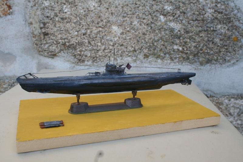 un u 995 1/72 revell pour un ami chantier presque fini Img_3710