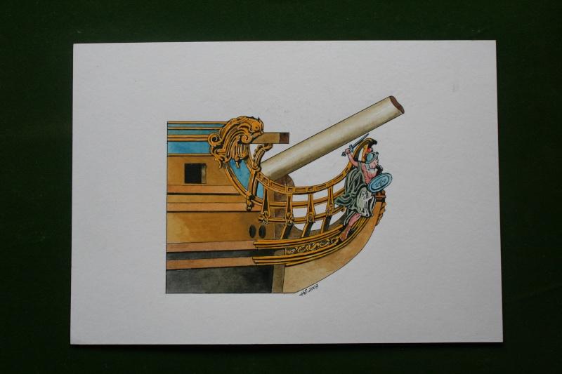 le radoub du ponant : Origine des voiles royales - Page 5 Img_4833