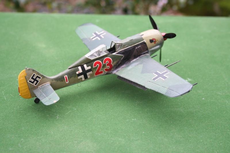 Un FW 190 sortant de l'atelier Img_6138