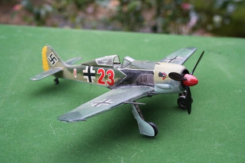Un FW 190 sortant de l'atelier Img_6142