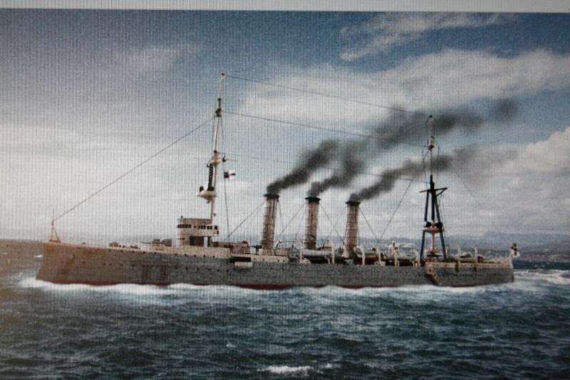 SMS Emden ( 1908) au 1/350 de Revell par Michaud Img_6222