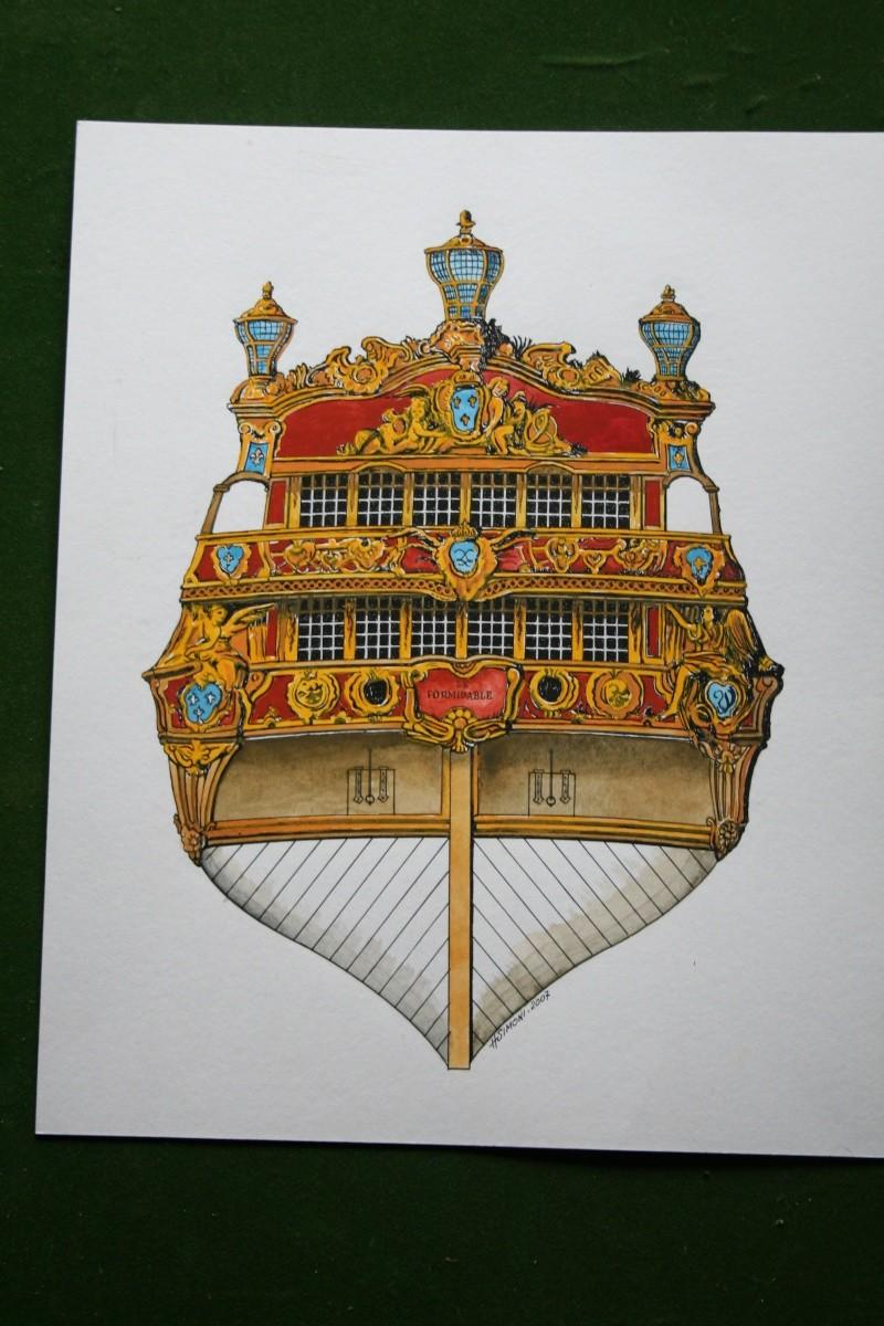 le radoub du ponant : Origine des voiles royales - Page 5 Img_6414