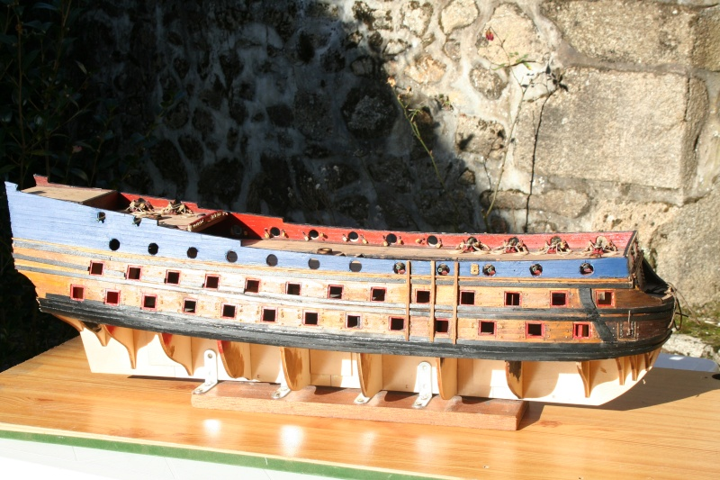 L'Ambitieux  un des navires de Tourville par michaud - Page 4 Img_6422